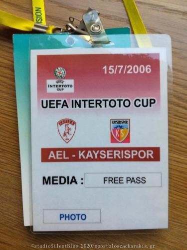 UEFA Intertoto Cup, AEL vs Kayserispor